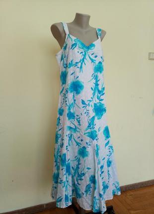 Легкое летнее платье хлопок
