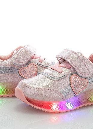 Мигающие светящиеся кроссовки с супинатором