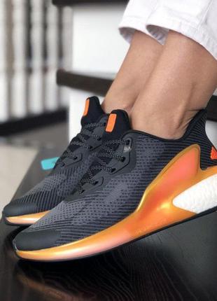 Кроссовки adidas alpha boost black