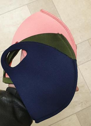 Многоразовая неопреновая маска-питта,маска для лица,бактерицид...