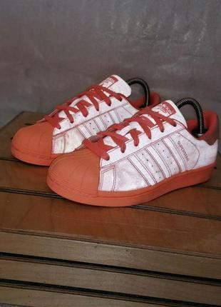 Adidas superstar adicolor sunglow р 38 - 23,5 см кроссовки жен...