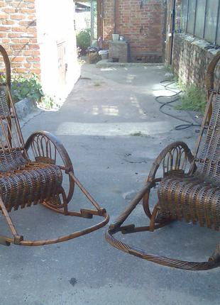 Изготовление плетеной мебели, ремонт плетеной мебели.