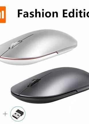 Мышь Xiaomi Mi Fashion Mouse 2 беспроводная мышка металлически...