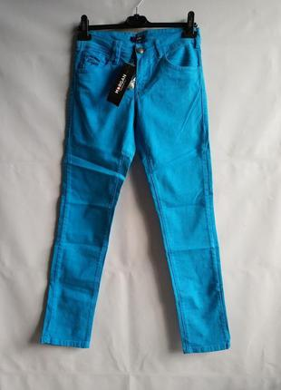 Женские плотные джинсы французского бренда morgan  европа ориг...