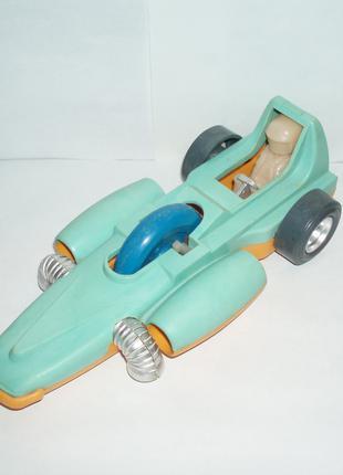 Игрушка СССР спортивный болид машинка Straume клеймо пластик