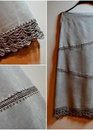 Новая юбка миди 16 размер (50 размер)