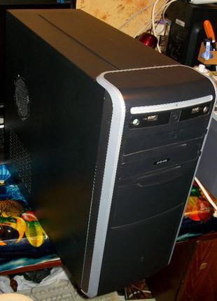 |Компьютер|P5G41T–M LX3|E6550|WD 320Gb|460W|4Gb DDR3|DVD-RW|Ка...