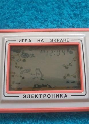 """Игра на экране Электроника """"Квака-Задавака"""""""
