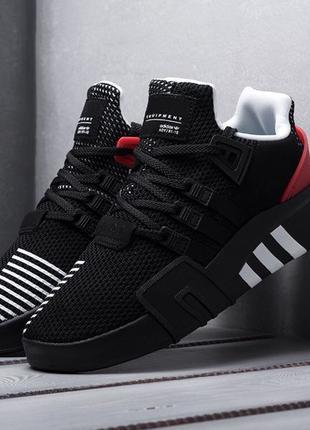 Adidas EQT Bask ADV (черно/красные)