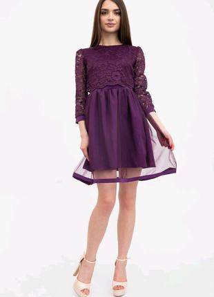 Платье женское 131r2844 цвет фиолетовый