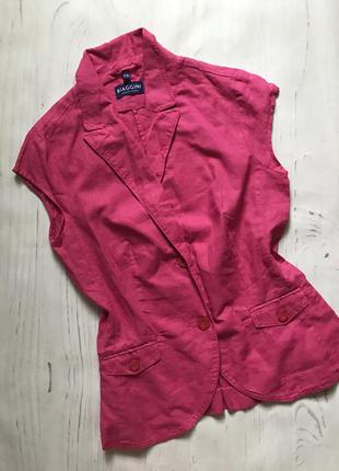 Льняная рубашка(s/m)
