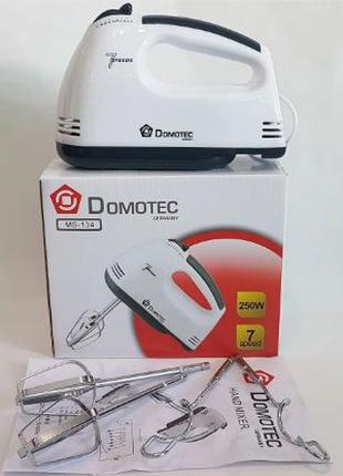 Миксер кухонный domotec ms-134