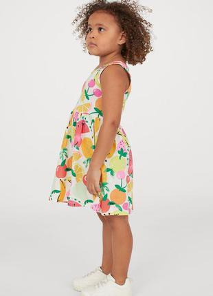 Платья сарафаны для девочек h&m, от 2 до 8 лет
