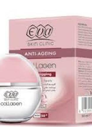 Крем для лица Eva collagen 50+ заполнитель морщин