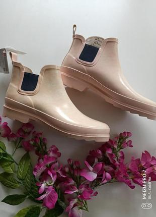 Классние ботинки резиновие, гумовци, германия, сток, 40р