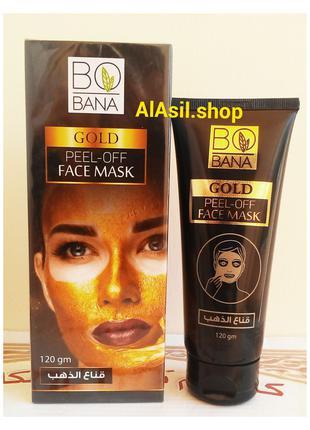 Золотая маска Bobana Gold 24K