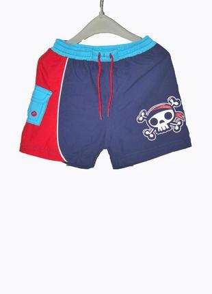 Детские шорты с принтом на 1-2 года
