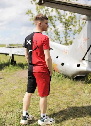 Летний комплект красный