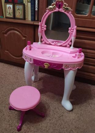 Музыкальный Туалетный столик для настоящих принцесс)