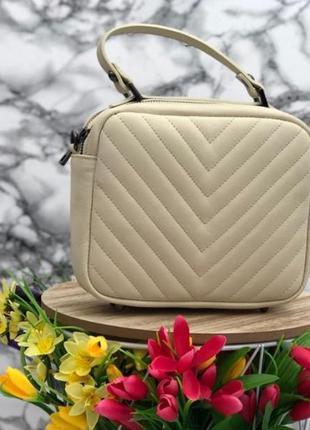 Кожаная сумочка кроссбоди италия
