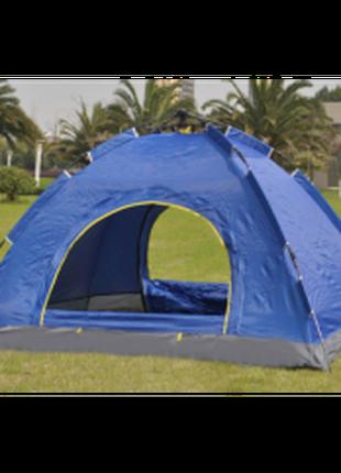 Палатка на 6 человек автоматическая цвет синий, зеленый, камуфляж