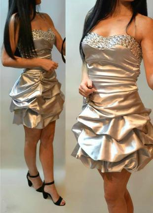 Новое коктельное платье nazz collection diamond нарядное вечернее