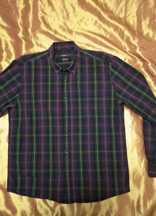 Мужская Рубашка Peacocks; XL
