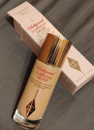 Тональное средство charlotte tilbury hollywood flawless filter