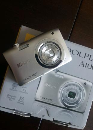 Продам компактный цифровой фотоаппарат Nikon Coolpix A100