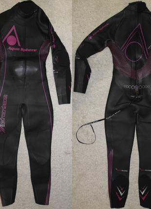 Aqua Sphere Phantom гидрокостюм триатлон плаванье длинный женский