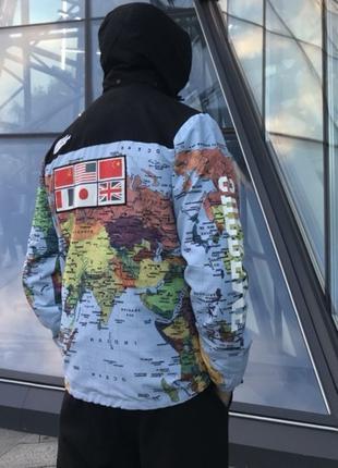 """Куртка TNF x Supreme """"Map"""""""