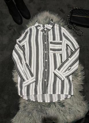 Стильная качественная  рубашка 🖤h&m 🖤divided