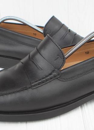 Лоферы tod's кожа италия 44,5р туфли мокасины