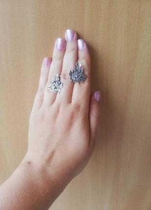 Красивые серьги бабочки, серебро 925