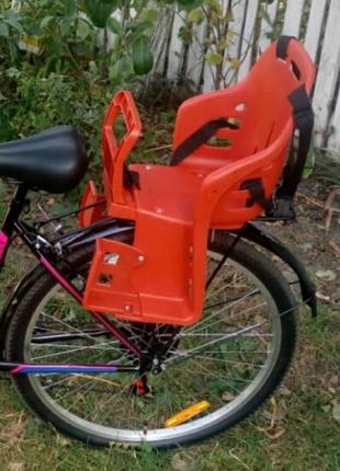 Велокресло детское на багажник велосипеда сидение седло