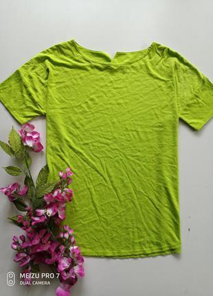 Яркая футболка от немецкого бренда м-л