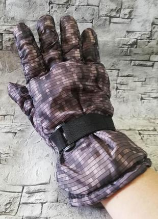 Распродажа, теплые перчатки с плащевки, лыжные.