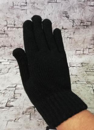 Теплые перчатки с начесом, c&a