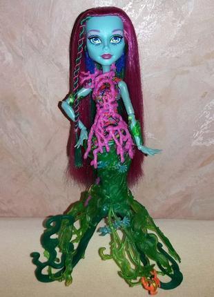 Монстер хай Monster High русалка Поси Риф Posea Reef в аутфите
