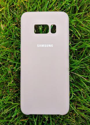 Бампер Silicone Cover Case для Samsung Galaxy S8 Cover Lavander