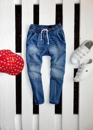 Класні джинси jogger на резінці denim