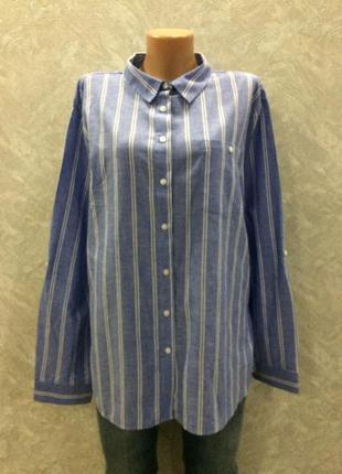 Рубашка котоновая в полоску primark