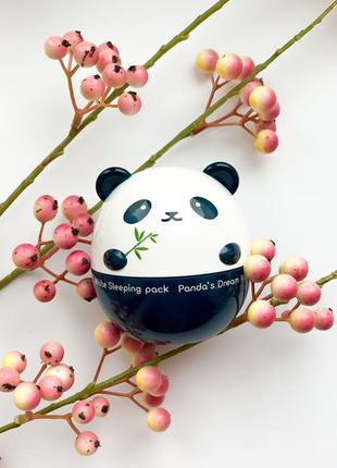Отбеливающая ночная маска для лица tony moly panda 's dream wh...