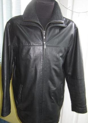 L утеплённая кожаная куртка - angelo litrico (3244)