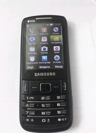 Телефон Samsung GT-C3782, Самсунг
