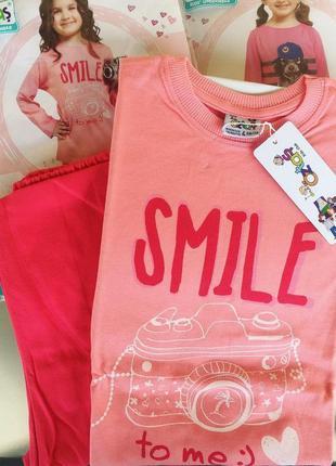 Детская -турецкая пижама на девочку oztas!