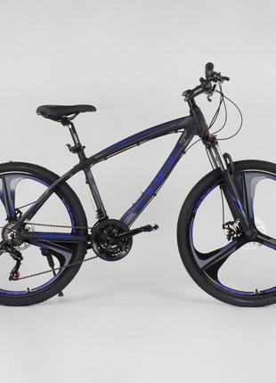 """Велосипед спортивный CORSO EVOLUTION 26"""", литые диски, рама 17"""""""
