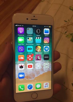 Продам iPhone 6 на 16 gb Silver.