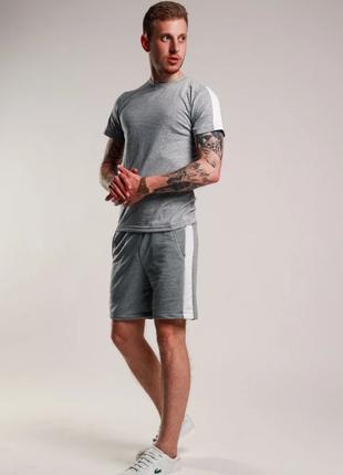 Мужской спортивный костюм летний ТОП качество adidas  nike reebok
