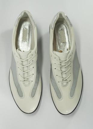 Кожаные туфли ecco. оригинал. новые. распродажа.
